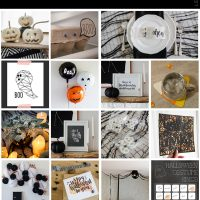 18 Rad halloween crafts, decor and printables