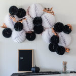 Giant Halloween Garland + Giveaway!