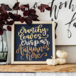 DIY Autumn Sign and Fall Themed SVG Bundle