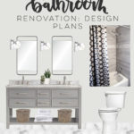 A Bathroom Renovation! One Room Challenge: Week 1