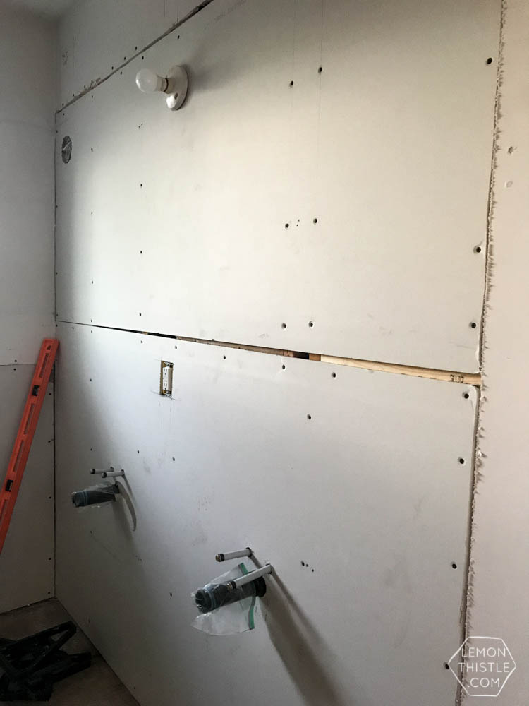 Ugly progress- renovation update