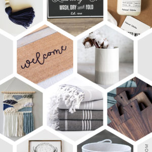 Etsy gift guide for the home decor lover- perfect gifts for her