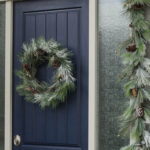 Modern Christmas Entry Decor