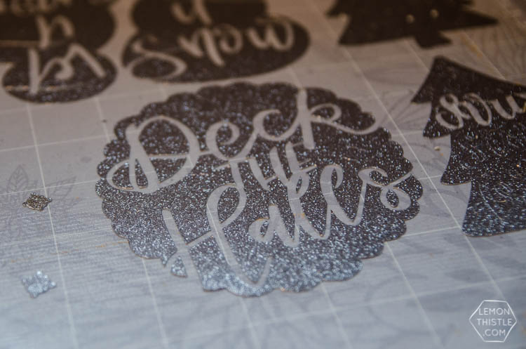 Hand Lettered Holiday Cards- SVG Cut Files available for a limited time in a bundle deal