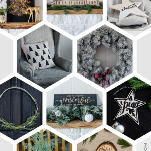 13 RAD DIYS FOR HOLIDAYS- I love these picks! Beautiful DIY Christmas decorations