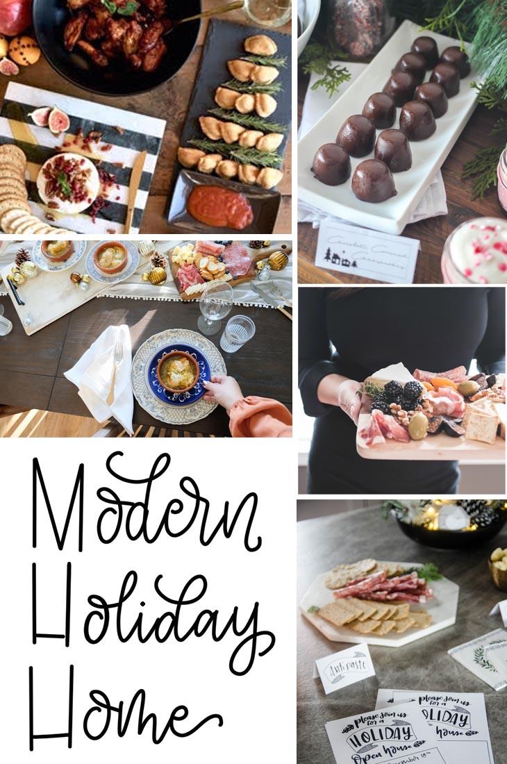 Modern Holiday Home Entertaining Ideas