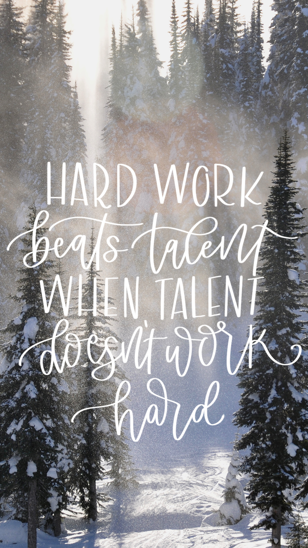 Calendar Monthly Quotes : Hard work beats talent december tech wallpapers lemon
