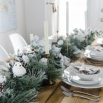 Frosted Holiday Tablescape