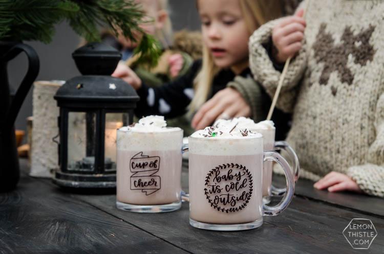 LOVE these christmas mugs!