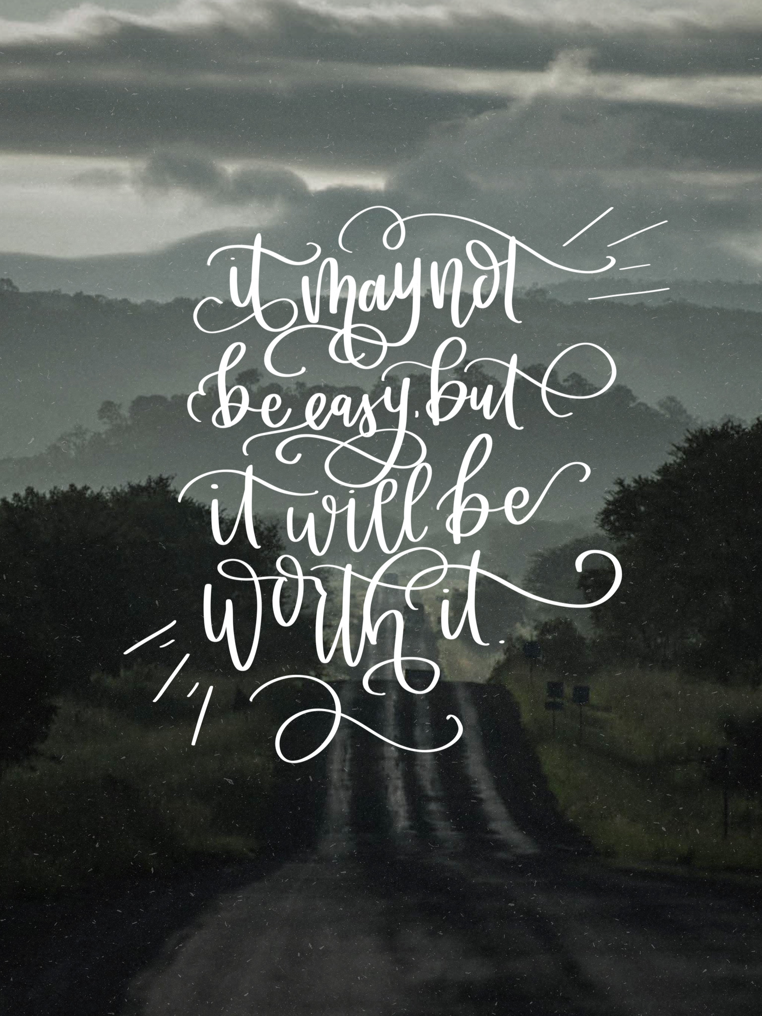 It Will Be Worth It February Handlettered Tech Wallpapers Lemon