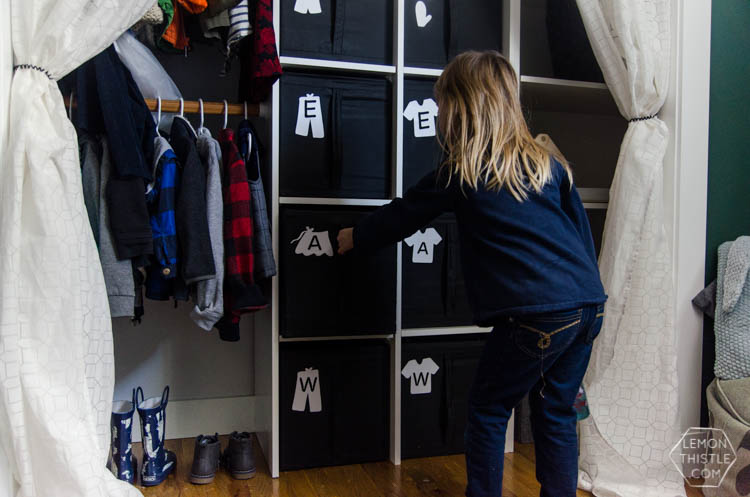 Incroyable DIY Closet Organization  Ikea Storage Bin Labels... What A Great Storage  Solution
