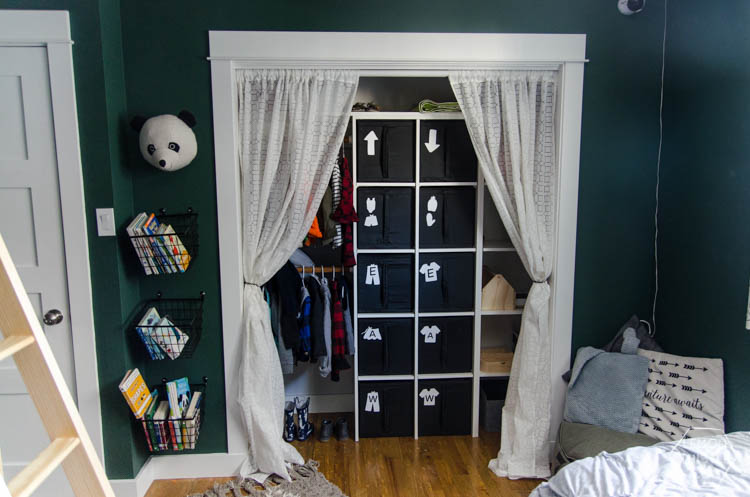 DIY Closet Organization  Ikea Storage Bin Labels... What A Great Storage  Solution
