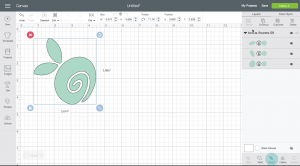 how to upload an SVG file to Cricut design space. Screenshot