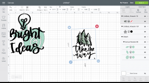 How to upload your own JPG image to cricut design space for print then cut (screenshot tutorial)
