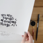 3 Ways: How to use Printable Practice Sheets for Hand Lettering