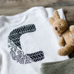 DIY Patterned Letter T-Shirts with Cricut