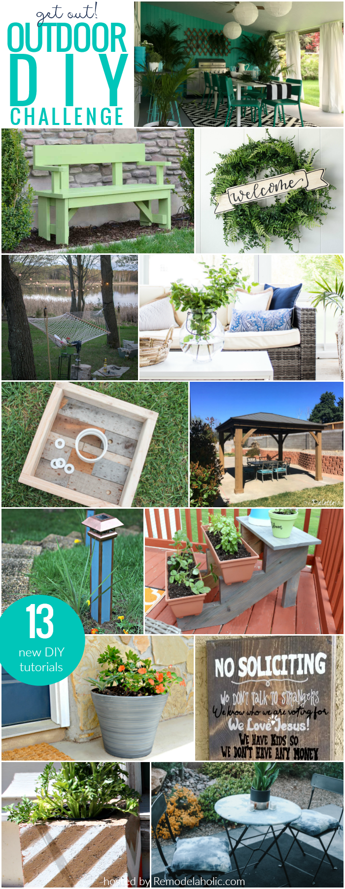Outdoor DIY and Decor Projects