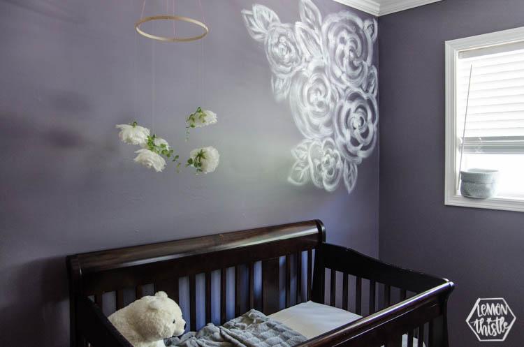 Purple Nursery Makeover LT-1805256