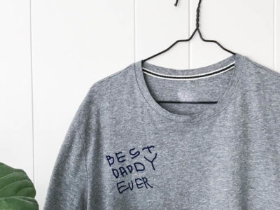 DIY Father's Day Gift Idea- Best Daddy Ever Tee Shirt