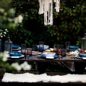 Boho Summer Tablescape