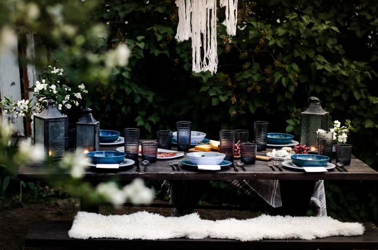 Boho Summer Tablescape