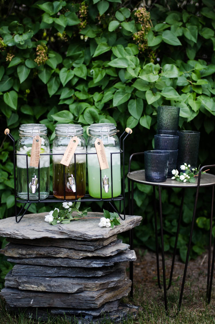 Outdoor Drinks Station