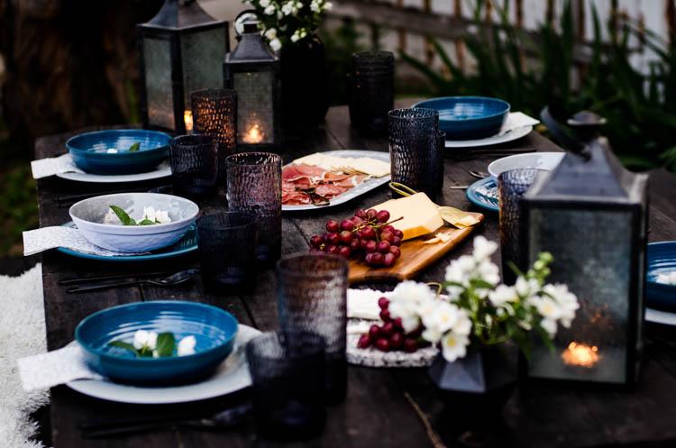 Summer Boho Tablescape
