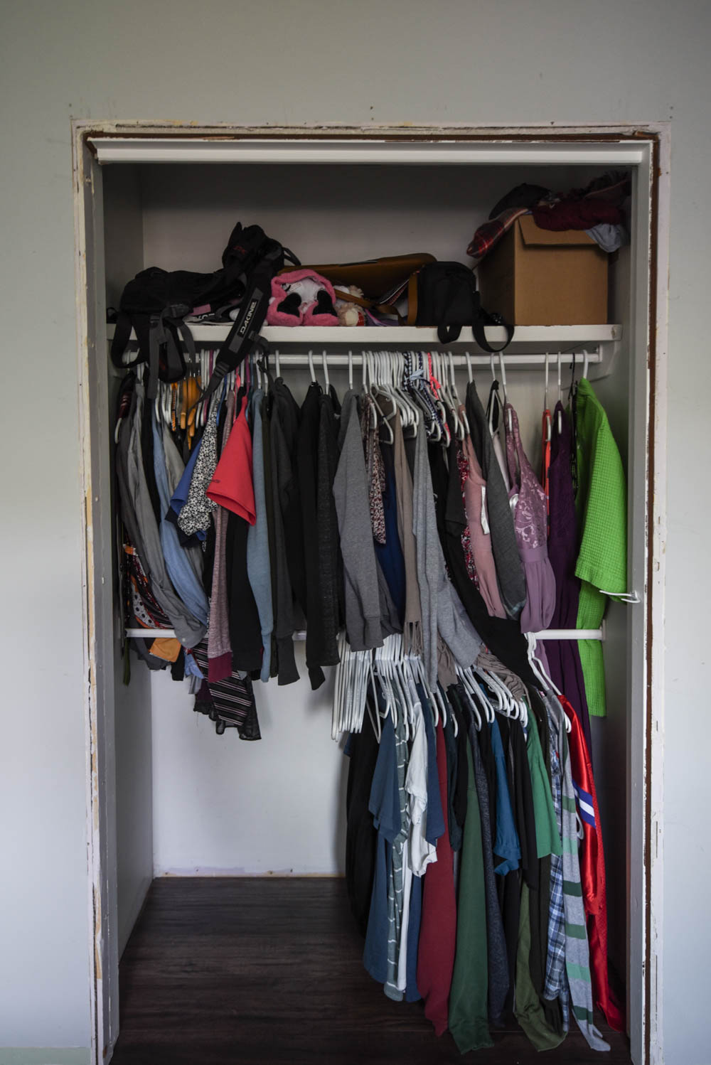 Closet Makeover- the Before photos