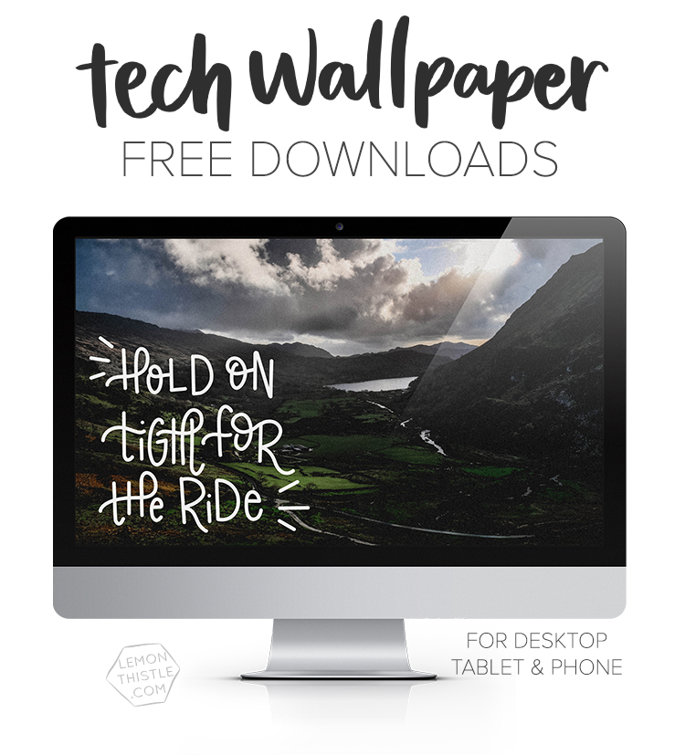 Tech Wallpaper Free Downloads: Quotes, Calendars & Script