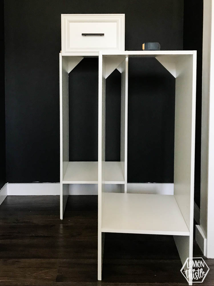 Build it yourself closet organizer