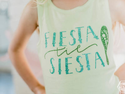 Fiesta til Siesta DIY tee
