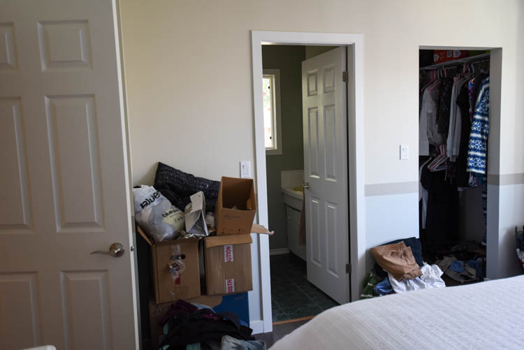 Master Bedroom Before Photos