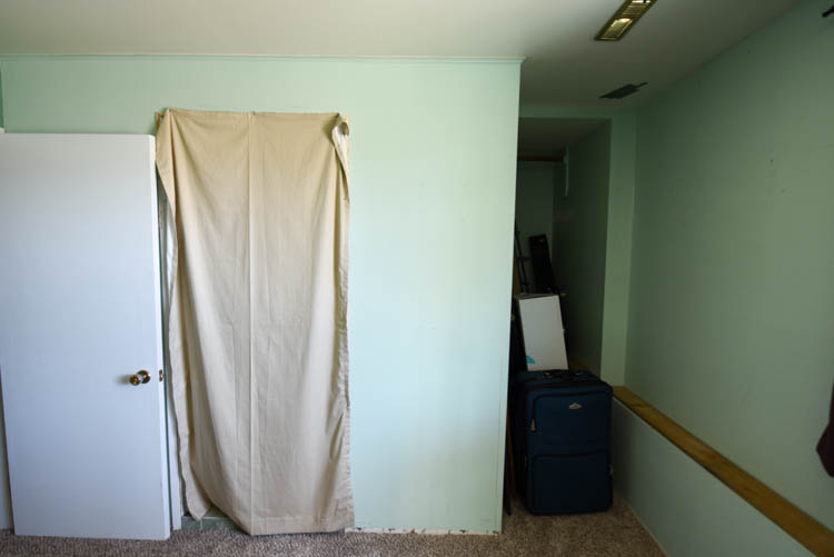 Guest Bedroom Before Photos