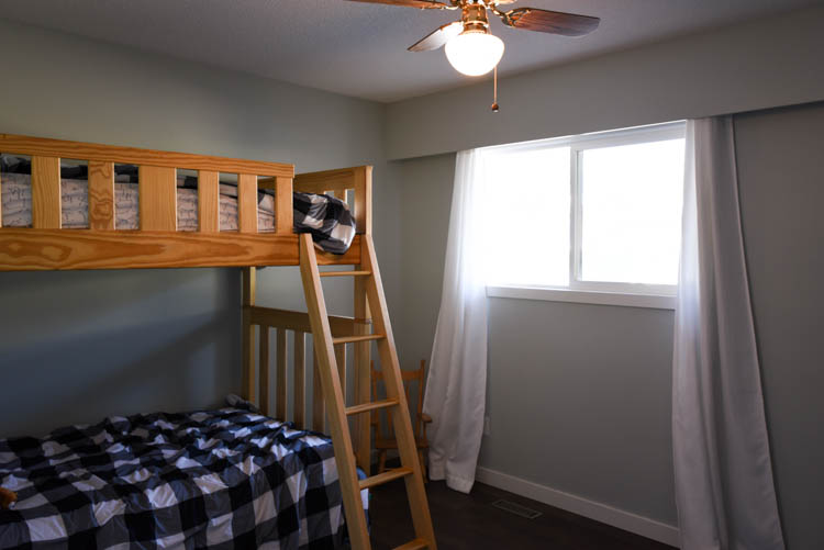 Boys shared bedroom BEFORE photos