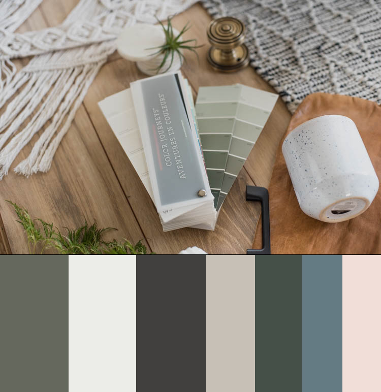 How we chose paint colours for our whole home- Tips and tricks!