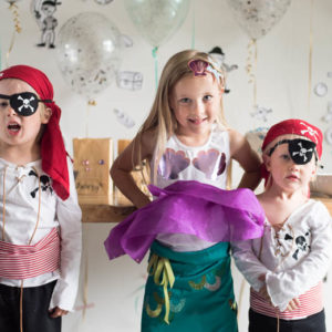 DIY Pirate & Mermaid Costumes with Cricut