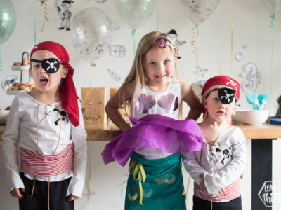 DIY Pirate & Mermaid Costumes with Cricut