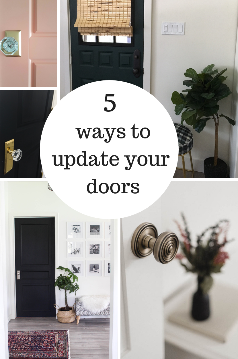 5 Ways to Update Interior Doors