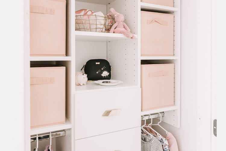 Designing kids closets that grow with them
