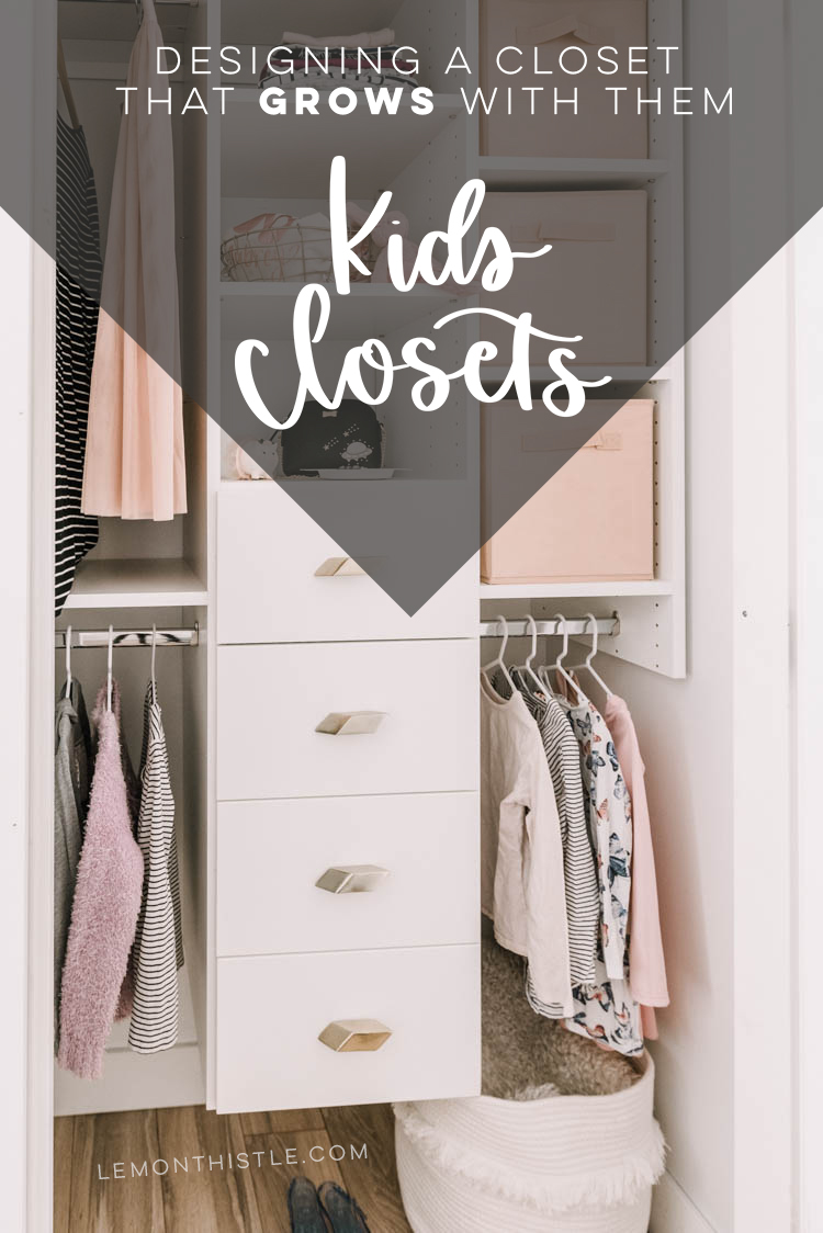 Title: Designing kids closets that grow with them