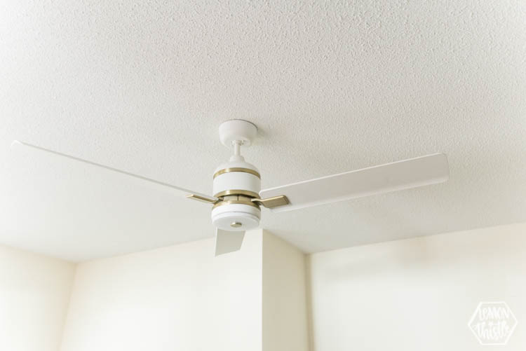 great points here! Choosing a ceiling fan over a light fixture