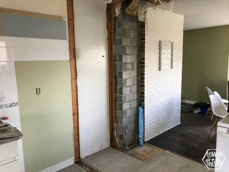 Kitchen Remodel progress update