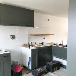 Cabinet Install! Kitchen Remodel progress update