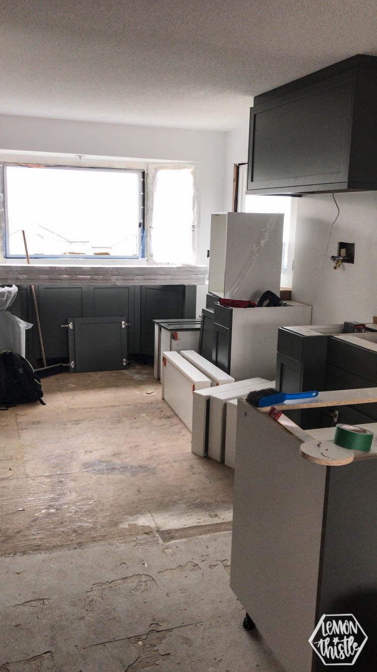 Cabinet Install! Kitchen Remodel progress update