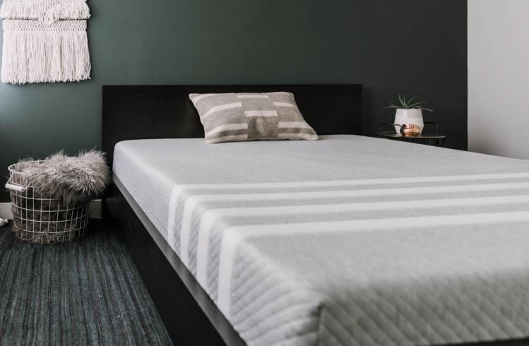 Boho Bedroom + Leesa Mattress Review