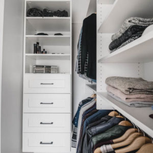 Master Closet Makeover - Before and After