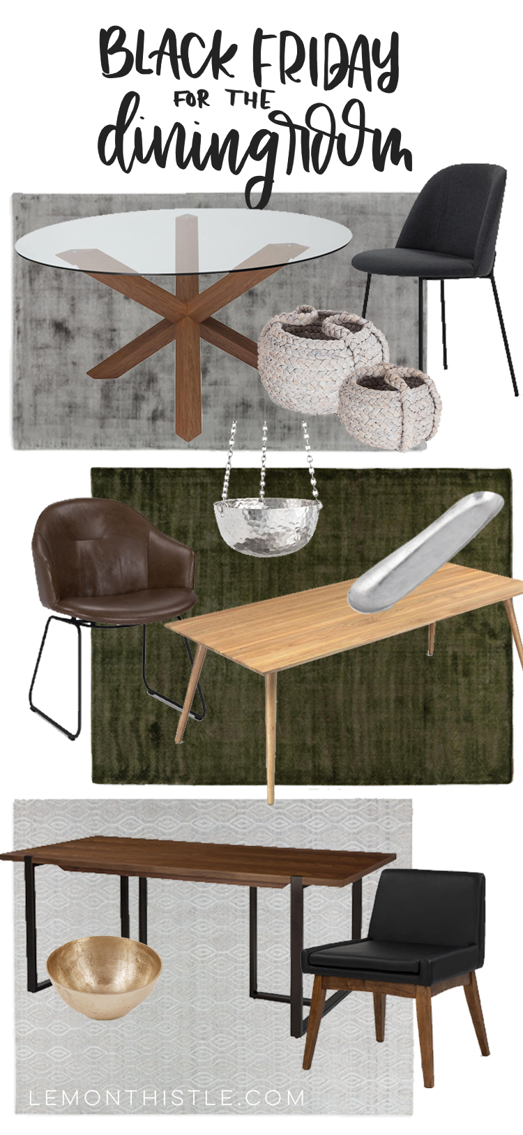Dining Room Furniture- black friday sale article