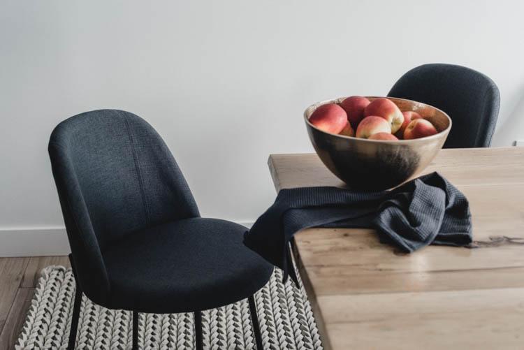 beautiful modern and minimal dining room