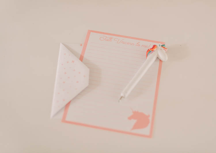 writing set for little girls