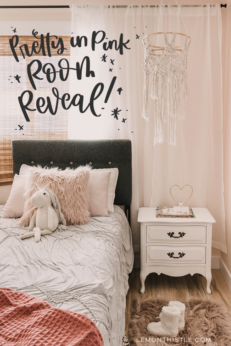 . Pretty in Pink   Modern Girl s Bedroom  ORC Reveal     Lemon Thistle